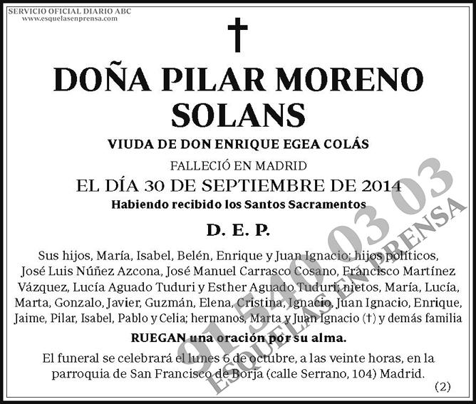 Pilar Moreno Solans